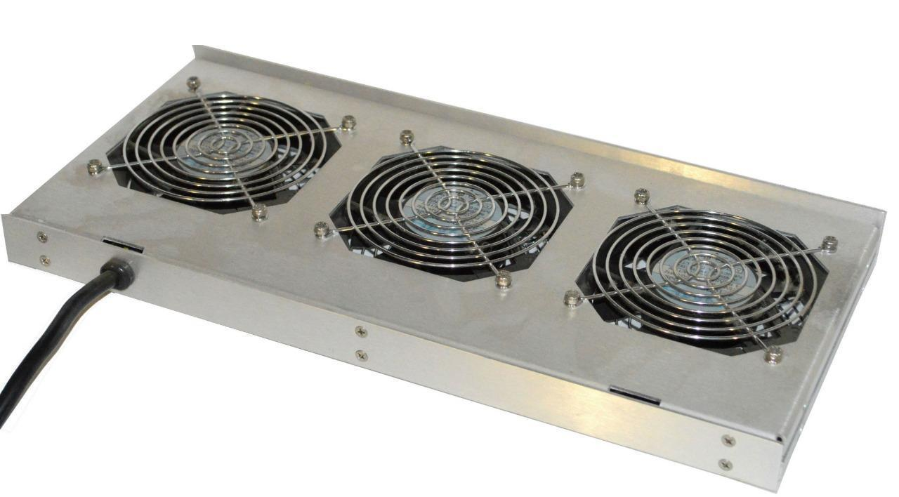 Fan Rack With 3 Nmb 4710PS-12TB30 Fans and 24 similar items