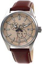Orient Defender RA-AK0405Y Automatic Hand-winding men's watch leather band - $129.00
