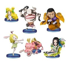 *Banpresto One Piece World Collectable Figure zodiac vol.1 all six - $72.61