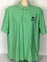 Ralph Lauren Polo Golf Mens Large L Polo Shirt Wachovia Championship Green - $15.83