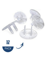 Outlet Plug Covers (Clear) Child Proof Electrical Protector Safety Caps ... - $6.99