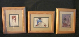 Four Native American Themed Decorative Prints. Framed, Ready to Hang - $15.90