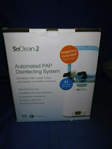 SoClean 2 CPAP Cleaner and Sanitizer SC1200 + Adapters Brand new - $247.49