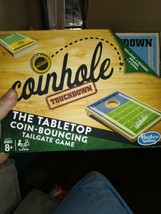 Coinhole Touchdown The Tabletop Coin-Bouncing Tailgate Game Hasbro Ages 8+ Party - $10.08