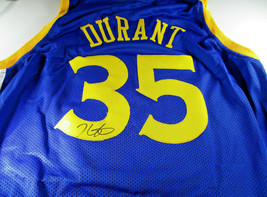 KEVIN DURANT / AUTOGRAPHED GOLDEN STATE WARRIORS CUSTOM BASKETBALL JERSE... - £113.26 GBP