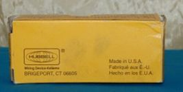 Hubbell HBL8300R Red Receptacle Straight Blade 20 Amp Duplex Hospital Grade image 6
