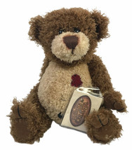 "2001 The Ganz Cottage 10"" Bear Todd & Toad Curly Hair Fur - $17.73"