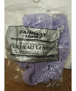 FAIRWAY GOLF DELUXE LONG NECK PURPLE FUR HEAD COVERS ACCESSORIES 3 PCS 1... - $9.79