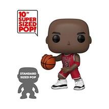 "FUNKO POP! NBA: Bulls - Michael Jordan 10"" (Red Jersey) - $38.98"