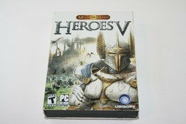 Heroes V of Might and Magic Ubisoft 2006 WIth Manual PC 4 CDs - $14.84