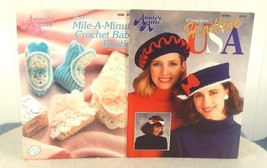 LOT OF 2 - 1991 ANNIES'S ATTIC LEAFLETS - 266B ... - $8.59