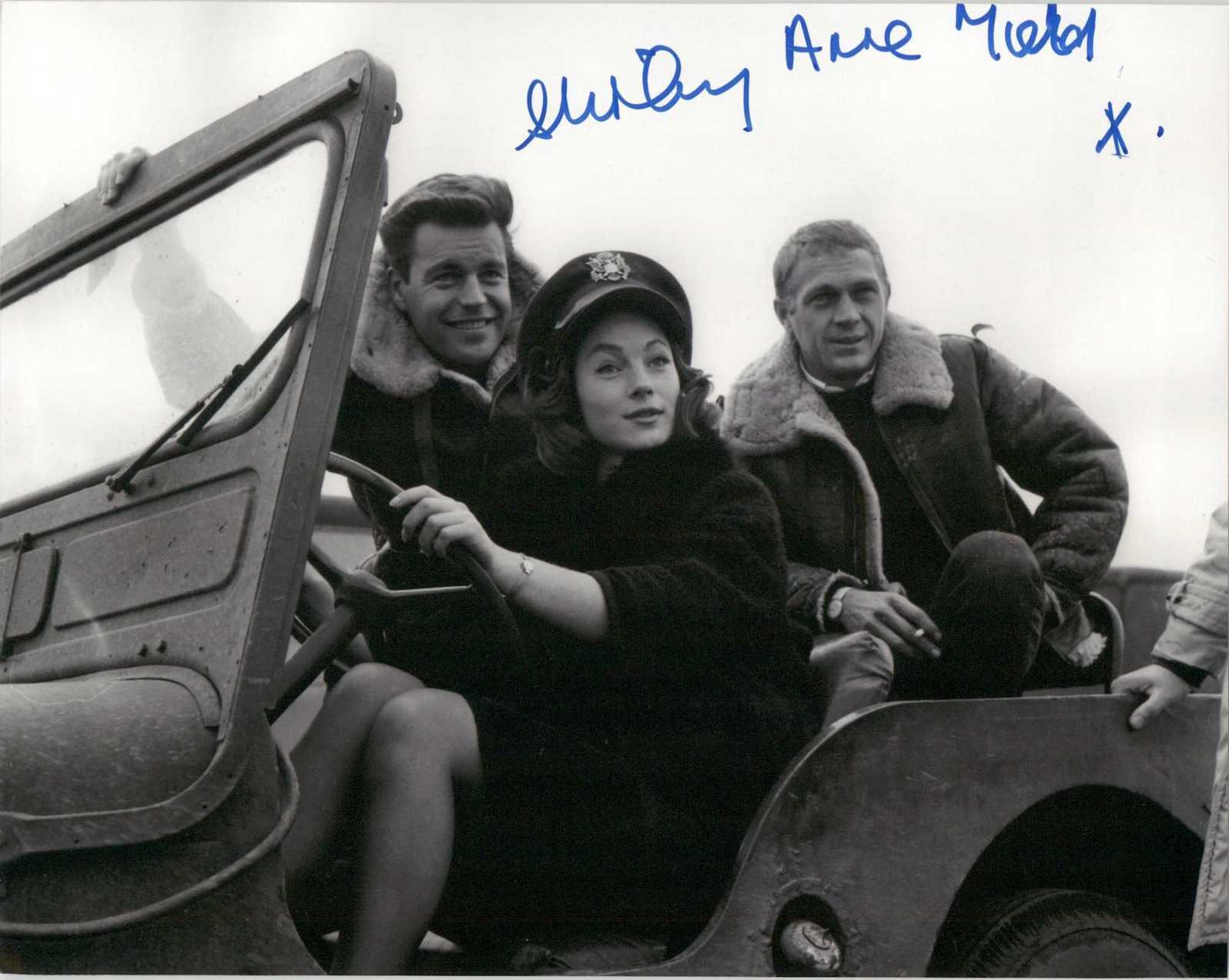 "Primary image for Shirley Anne Field Signed Autographed ""The War Lover"" Glossy 8x10 Photo"