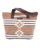 """Ryn Southwest Shoulder Tote Canvas Bag 11"""" x  5"""" x 11"""", Lined, Front Sli... - $47.95"""