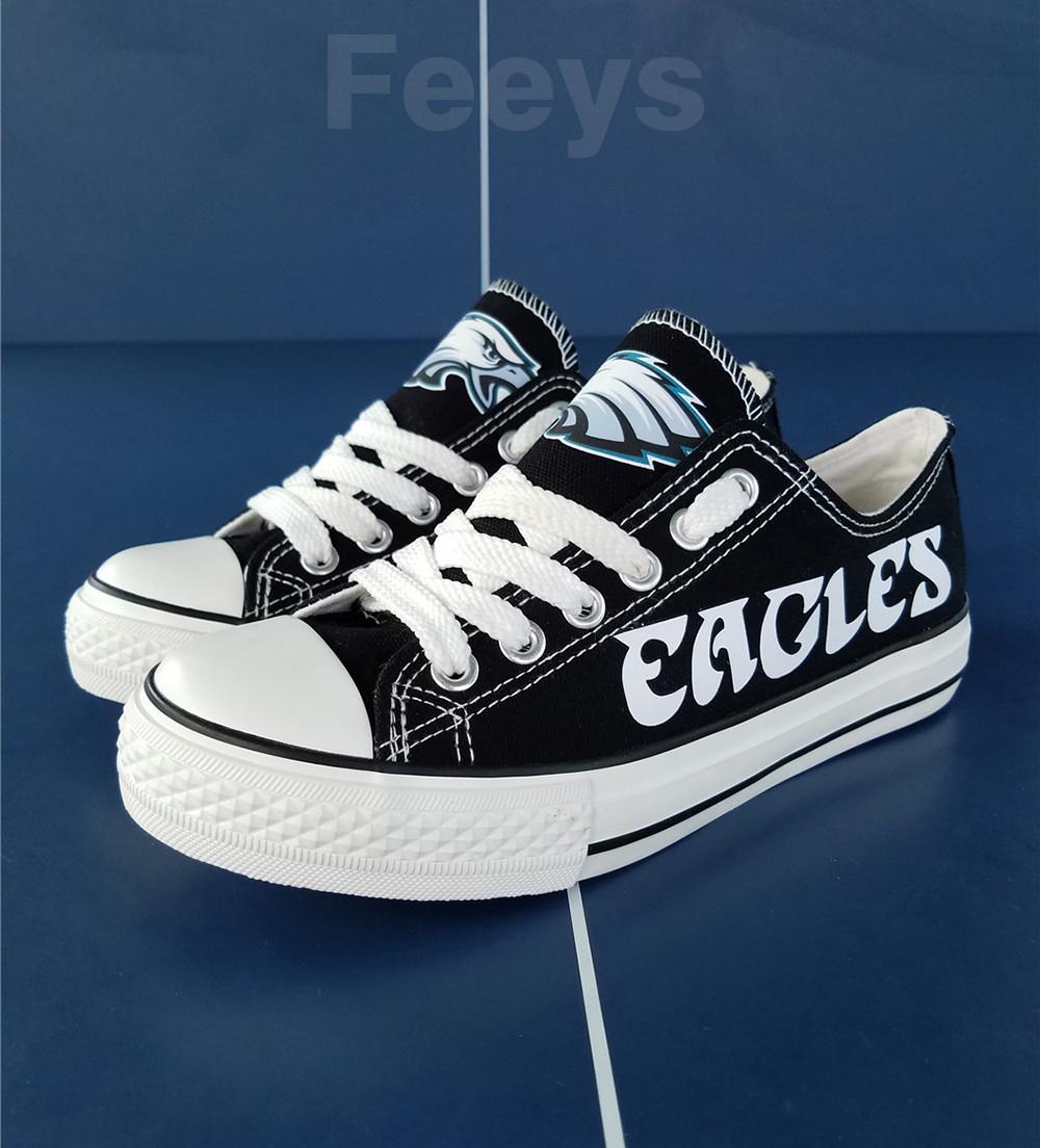 Philadelphia Eagles shoes Eagles sneakers Fashion Christmas gift birthday gift