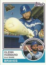 2005 Topps All-Time Fan Favorites #12 Glenn Hubbard  - $0.50
