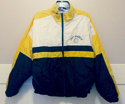 Lew Wallace High School Lady Hornets Jacket Womens XL Costume Black Gold... - $28.53