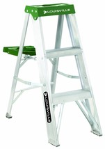 Louisville Ladder AS4003 225-Pound Duty Rating Aluminum Stepladder, 3-Foot - $51.66