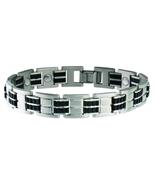 Sabona 353 Stainless Rubber Magnetic Bracelet - $69.95