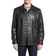 Stander Style Men Leather Coat