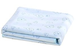 Cotton Baby Home Travel Urine Pad Mat Cover Changing Pad 9085cm, Blue
