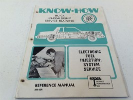 1981 Buick Know How Electronic Fuel Injection System Service Training KH... - $14.99