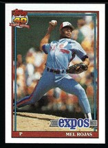 1991 Topps #252 Mel Rojas - $1.50