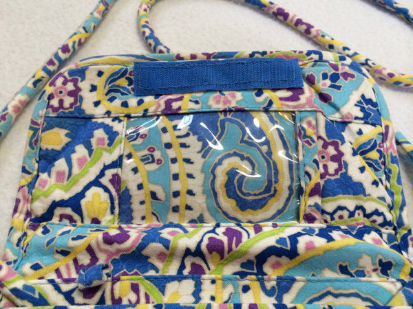 6ca78c02fb53 Vera Bradley Capri Blue Paisley Diamond and 42 similar items