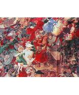 Old Fashion Designer Christmas Fabric - $24.99