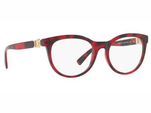 Authentic Versace Eyeglasses VE3247 5258 Bordeaux Havana Frames 53mm Rx-ABLE