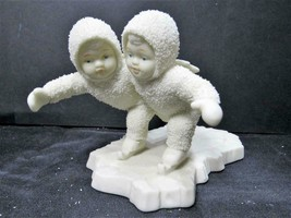 """WE MAKE A GREAT PAIR SKATING 6843-8"" Dept 56 Snowbabies CHRISTMAS FIGURINE - $10.44"
