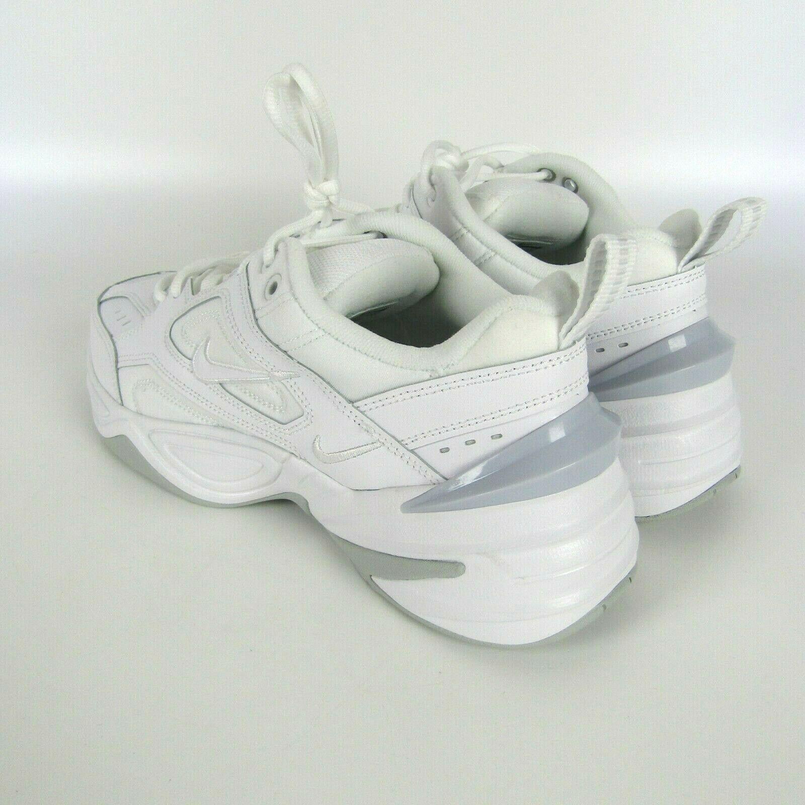New NIKE M2K Tekno AV4789-101 White / Pure Platinum Mens Shoes Sneakers size 9.5