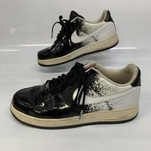Nike Air Mens Air Force 1 2008 Basketball Shoes Size US 10 EUR 44 Black ... - $55.74