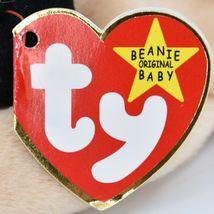1996 TY Beanie Baby Original Pugsly the Pug Dog Retired Beanbag Plush Toy image 6