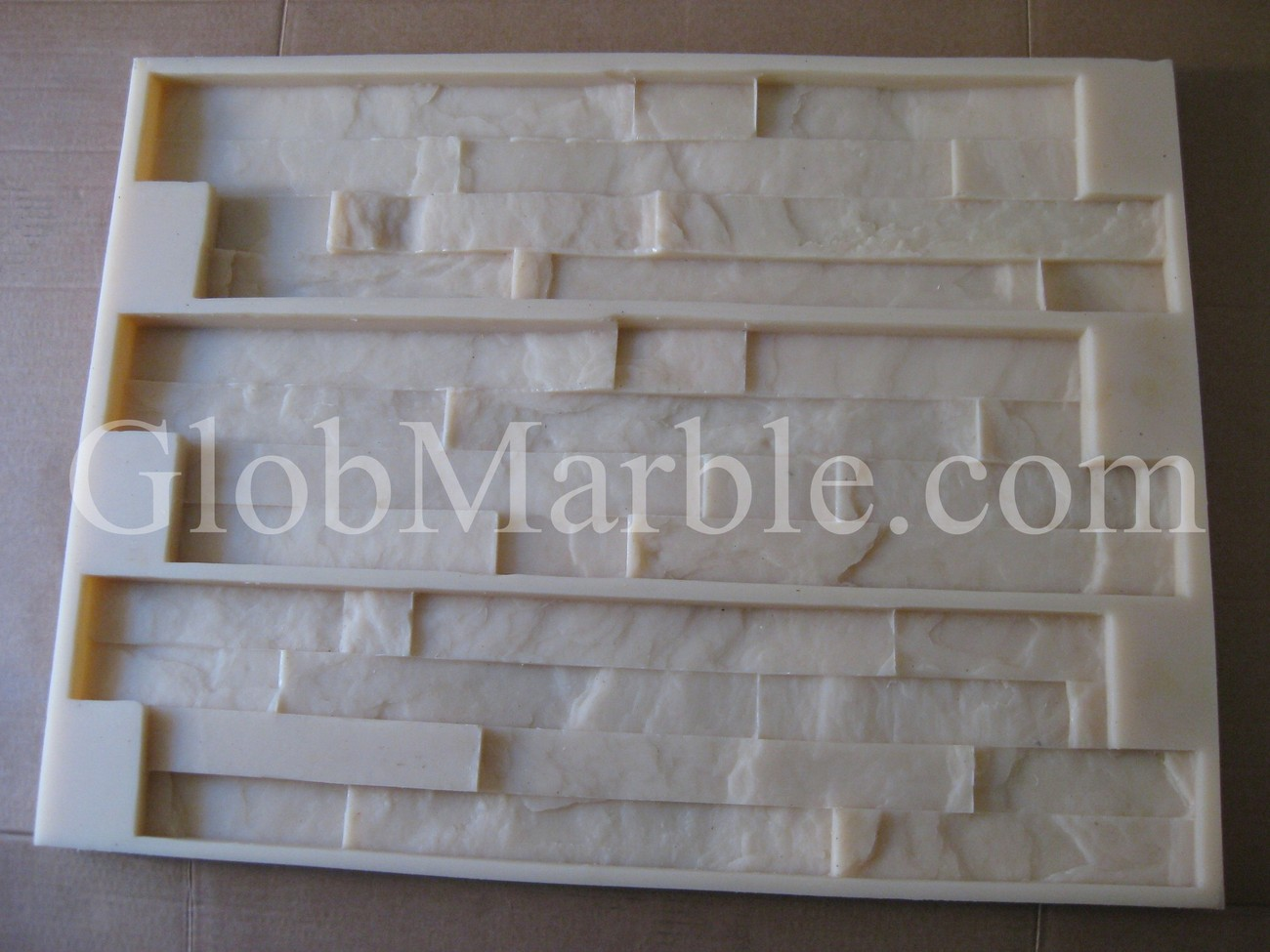 Primary image for CONCRETE MOLD STONE, WALL VENEER PAVER. RUBBER MOLD