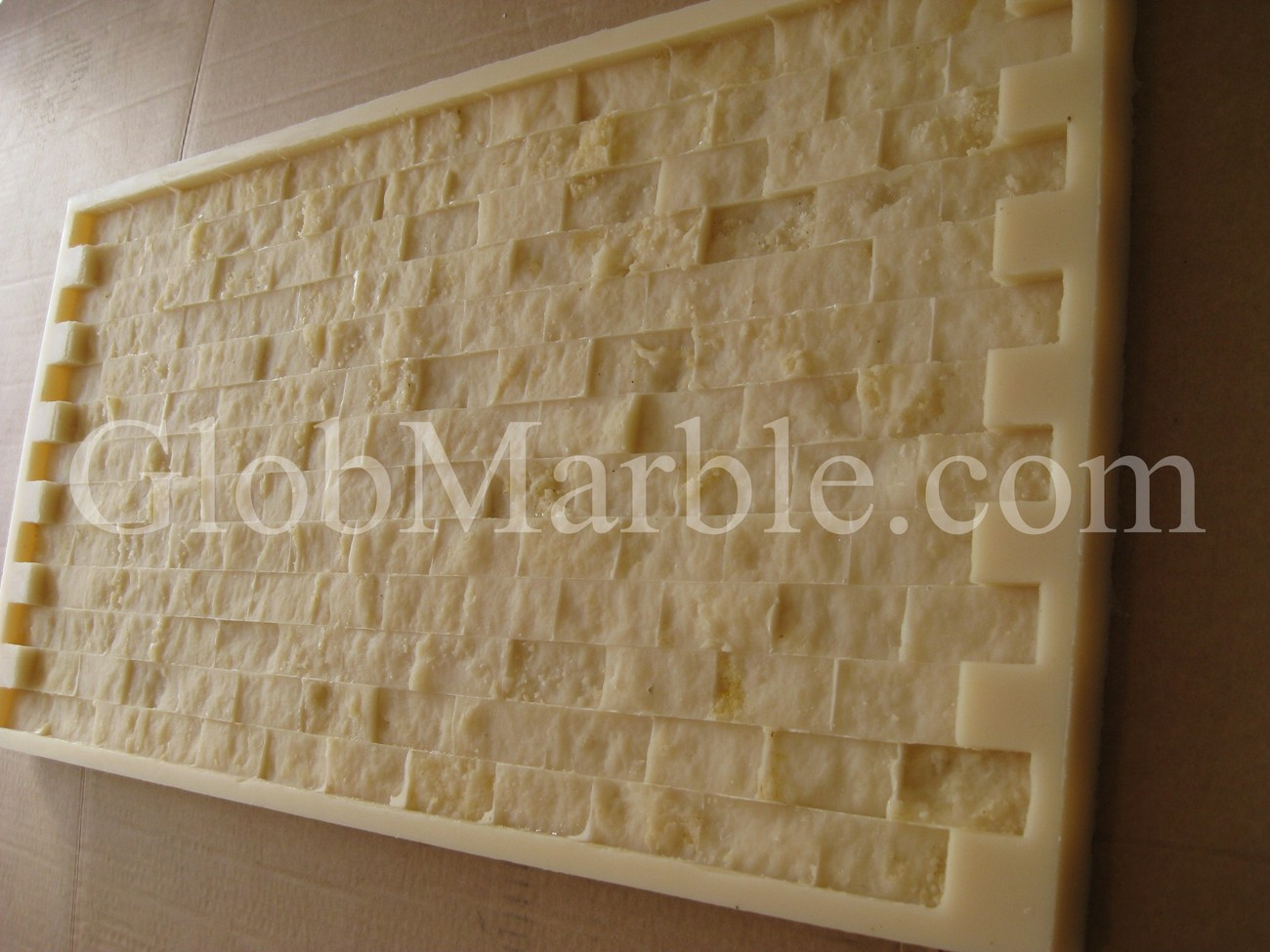 Primary image for MOSAIC STONE RUBBER MOLD. CONCRETE VENEER PAVER.