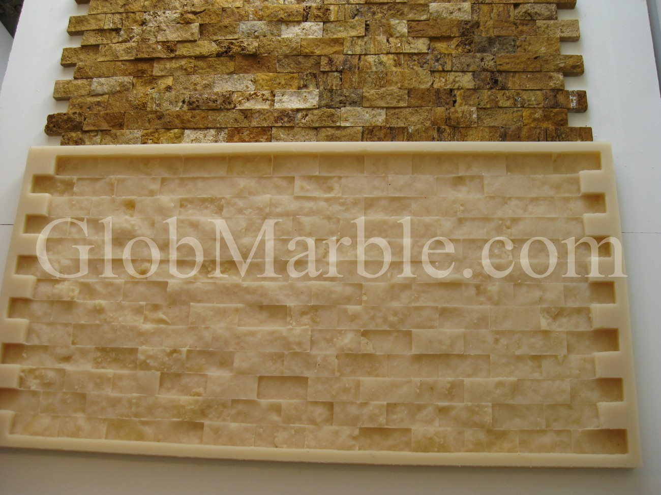 Mosaic Stone Cement : Mosaic stone rubber mold concrete veneer paver other