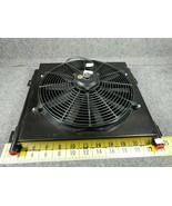 "High Pressure Steel Hydraulic Oil Cooler w/Fan 3/4"" 400 PSI 4 to 36 gpm ... - $460.55"