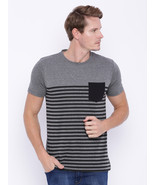 Difference of Opinion Stripe Printed T-Shirt - $426,06 MXN
