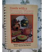 Vintage Foreign Foods Cookbook 2000 Recipes Home Economics Teacher Colle... - $14.95