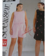 Butterick B4161 See & Sew Pattern Sizes 7 8 10 12 and 14 - $4.95