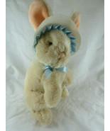 "Applause Vintage Korea Bunny Rabbit in Easter Bonnet 11"" plus ears - $14.84"