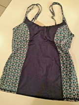 Tommy Bahama Actiive Under Wire Neck Tankini Size Medium image 1