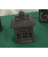 Antique Deposit Bank Cast Iron Columbia Grey Iron Company Columbia Penns... - $175.00