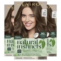 Clairol Natural Instincts Semi-Permanent Hair Dye, 6 Light - $25.37