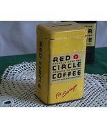 Red Circle Coffee Atlantic and Pacific Tea Company Tin Bank - $20.00