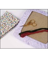 "Q-Snap Cover 17""x17"" fun fabric cover assorted prints Q-Snap frame cross... - $10.00"