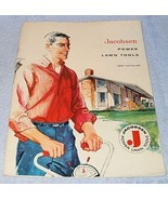 Jacobsen Power Lawn Yard Garden Tools Equipment Sales Catalog 1961 - $19.95