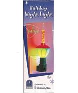 "Roman Christmas Holiday Bubble Light Night Light 6"" NIB - $12.99"