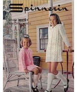 Spinnerin Thank Heaven for Little Girls Vol 188 1968 Sweaters Dresses More - $9.99