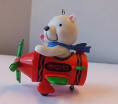 Hallmark - I Can Do It! - Crayola Crayons - Bear in Airplane Christmas O... - $9.02